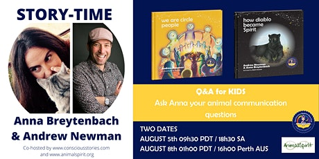 Circle Time with Anna Breytenbach and Andrew Newman tickets
