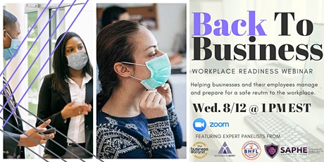 Workplace Readiness: Back to Business tickets