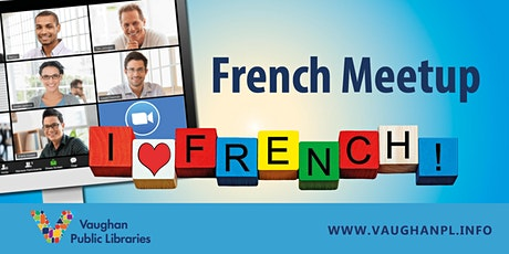 Virtual French Meetup tickets
