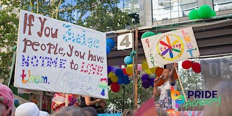 Pride Academy - Rasszizmus és homofóbia: tapasztalatok a metszetből tickets