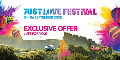 Just Love Festival Exclusive Youth Offer Tickets