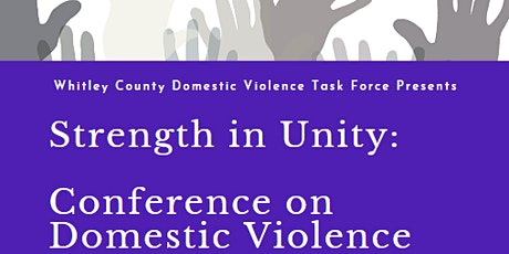 Strength in Unity: Conference on Domestic Violence tickets