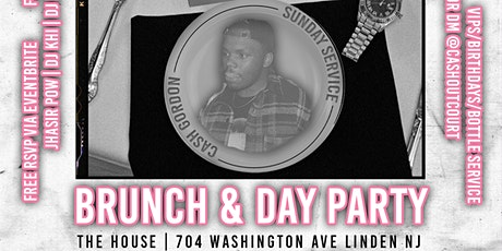 Sunday Service Brunch & Day Party | #CashGordonSummerGames (21+) tickets