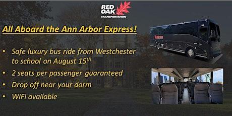 Westchester to University of Michigan Luxury Bus tickets