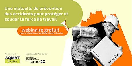 Une mutuelle de prévention des accidents billets