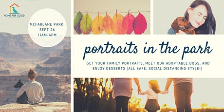 Fall Portraits in the Park - Benefiting Home Fur Good Dog Rescue tickets