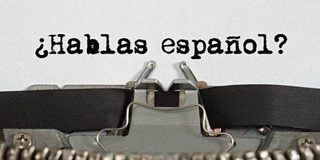 Spanish and English language exchange tickets