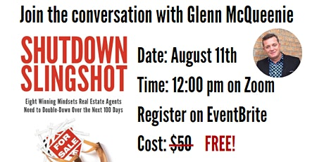 Shutdown Slingshot Presented By Glenn McQueenie LIVE at KW VanCentral tickets