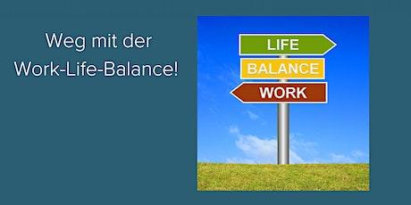 Sylt: Weg mit der Work-Life-Balance! Tickets