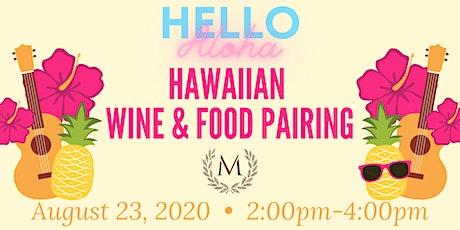 Hawaiian Wine & Food Pairing at Morais Vineyards tickets