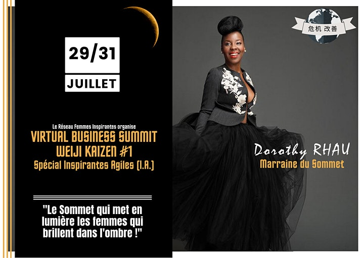 Image pour Business Summit WeiJi KaiZen  #1 - Spécial I.A. (Inspirantes Agiles)