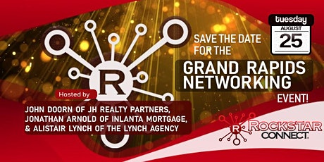 Free Grand Rapids Rockstar Connect Networking Event (August, Michigan) tickets