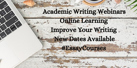 Academic Wednesdays: Mini FREE Intro to Academic Writing Webinar tickets