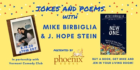 Jokes and Poems with Mike Birbiglia and J. Hope Stein tickets