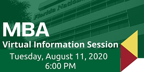 MBA Virtual Information Session tickets