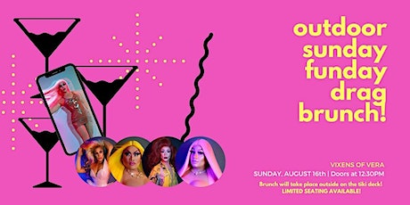 Sunday Funday Drag Brunch! (Outdoors) tickets