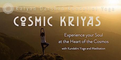 Cosmic Kriyas tickets