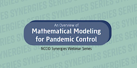 An Overview of Mathematical Modeling for Pandemic Control tickets