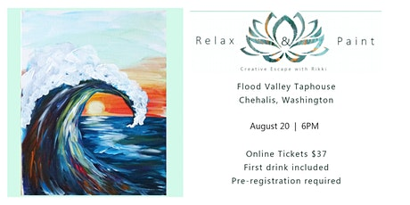 SOLD OUTRelax+Paint class at Flood Valley Taphouse tickets