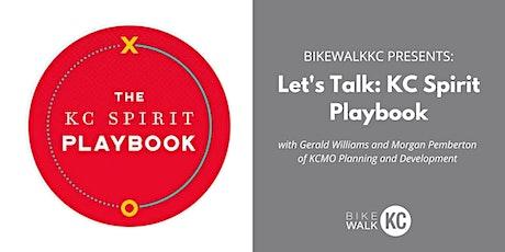 Let's Talk: KC Spirit Playbook tickets