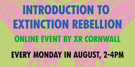 Introduction to Extinction Rebellion (Mondays 2pm) billets