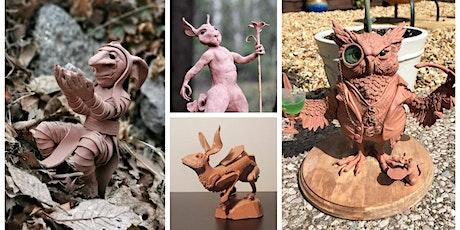 """Skulpteringskurs - fantasifulla """"maquette-figurer"""" i lera tickets"""