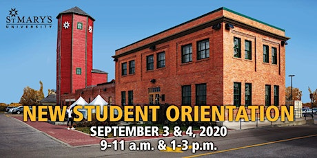 New Student Orientation 2020 tickets
