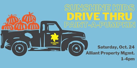 SAVE THE DATE: Sunshine Kids Drive Thru Paint-A-Pumpkin tickets