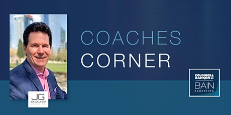 CB Bain | Coaches Corner: The Buyer Process | Zoom | Aug 18th 2020 tickets