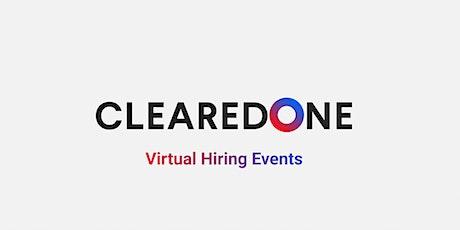 ClearedOne - U.S.  9/10 (Virtual) tickets