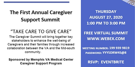 THE FIRST ANNUAL CAREGIVER SUMMIT tickets
