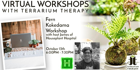 Virtual Workshop - Fern Kokedama tickets