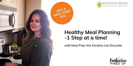 Meal Planning and Prep 101 - Toronto West Tickets