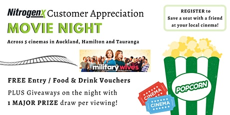 Customer Appreciation Movie Night - Tauranga Crossing tickets