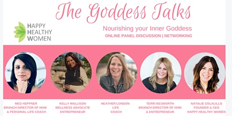 The Goddess Talks - Nourishing Your Inner Goddess tickets