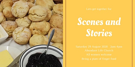 ALC Women: Scones & Stories tickets