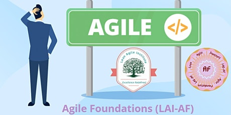 Virtual Live - LAI Certified - Agile Foundations (LAI-AF) tickets