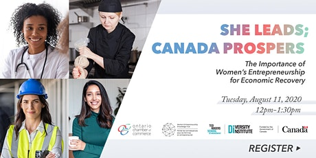 The Importance of Women's Entrepreneurship for Economic Recovery tickets