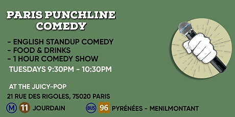 The Paris Punchline Comedy - Special Night billets