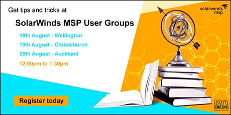 SolarWinds MSP User Group - Christchurch tickets