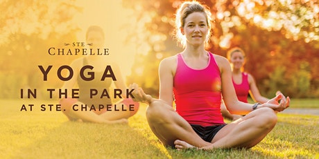 Yoga in the Park at Ste Chapelle! tickets