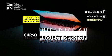 Introducción al uso de MSProject para la gestión de proyectos - agosto 2020 entradas