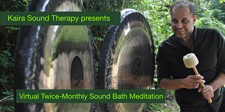 Virtual Soundbath Meditation tickets