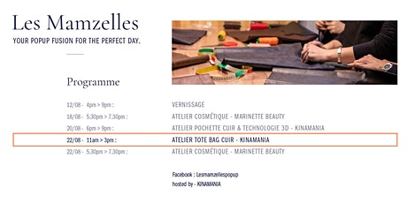 Tote Bag Workshop @ Les Mamzelles PopUp (22/08) tickets