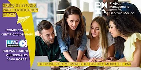 Grupo de Estudio para Certificación PMP ingressos