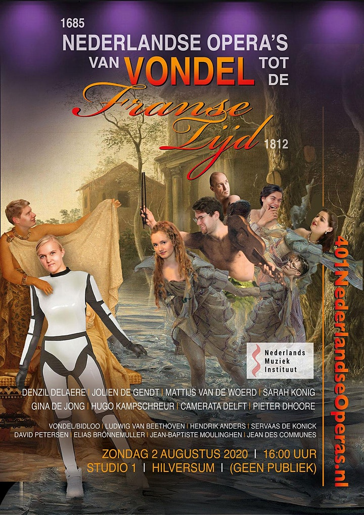 Afbeelding van Nederlandse Operas van Vondel 1685 tot de Franse Tijd 1812