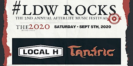 Labor Day Weekend ROCKS - Afterlife Fest W/ Local H, Tantric & More! tickets