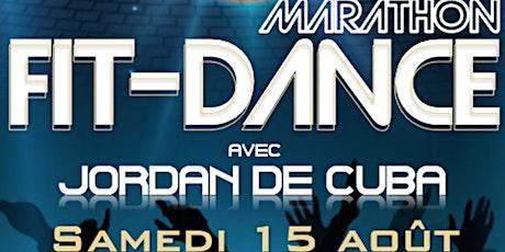 Marathon Fit-Dance avec Jordan De Cuba billets