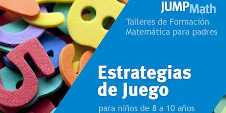 19.08 - 19 h Estrategias matemáticas para niños/as de 8 a 10 años tickets