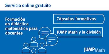 26.08 - 16 h JUMP Math y la división entradas